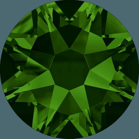 Swarovski 2088 - Xirius Rose, Dark Moss Green