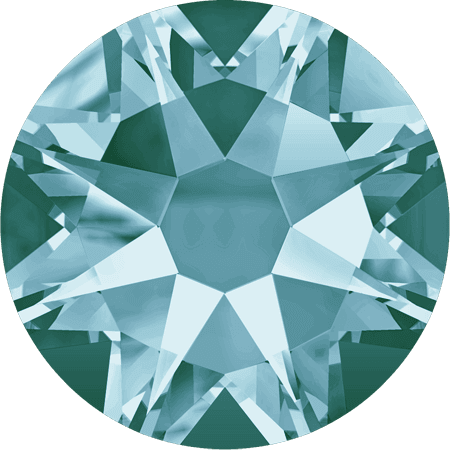 Swarovski 2088 - Xirius Rose, Light Turquoise