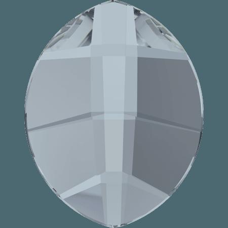 Swarovski 2204 - Pure Leaf, Hotfix, Crystal Blue Shade