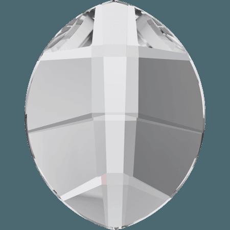 Swarovski 2204 - Pure Leaf, Hotfix, Crystal
