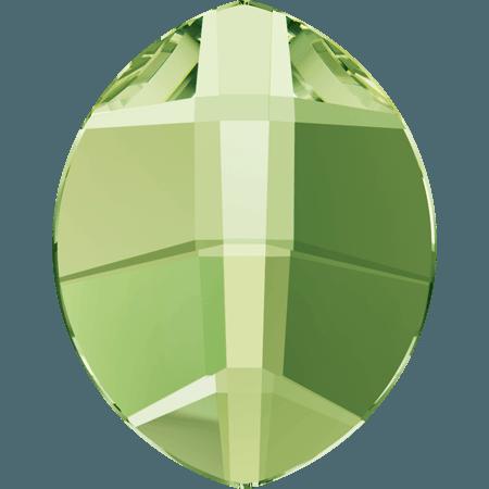 Swarovski 2204 - Pure Leaf, Hotfix, Peridot