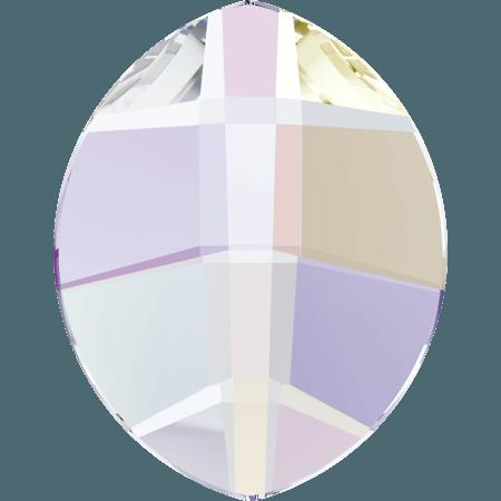 Swarovski 2204 - Pure Leaf, Crystal AB
