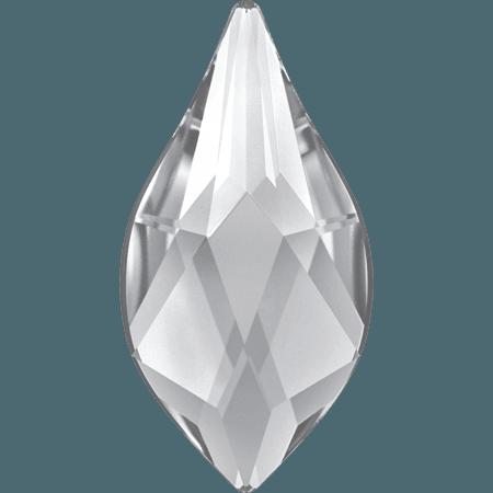 Swarovski 2205 - Flame, Hotfix, Crystal