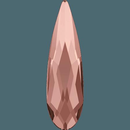 Swarovski 2304 - Raindrop, Hotfix, Blush Rose