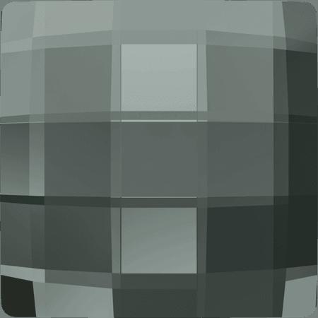 Swarovski 2493 - Chessboard, Black Diamond