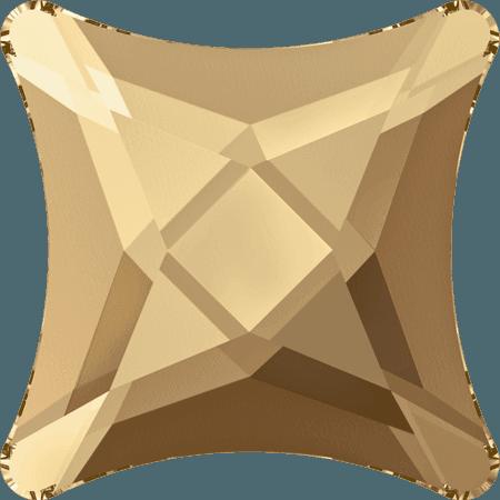 Swarovski 2494 - Starlet, Hotfix, Crystal Golden Shadow