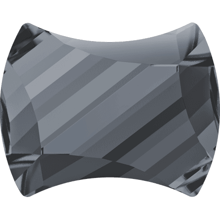 Swarovski 2540 - Curvy, Hotfix, Crystal Silver Night