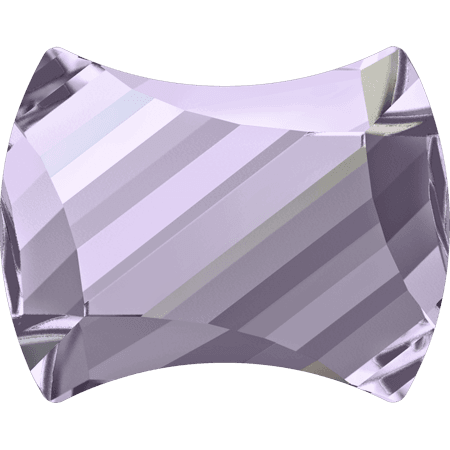 Swarovski 2540 - Curvy, Hotfix, Smoky Mauve