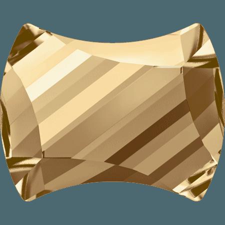 Swarovski 2540 - Curvy, Crystal Golden Shadow