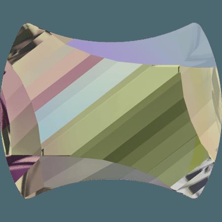Swarovski 2540 - Curvy, Crystal Paradise Shine