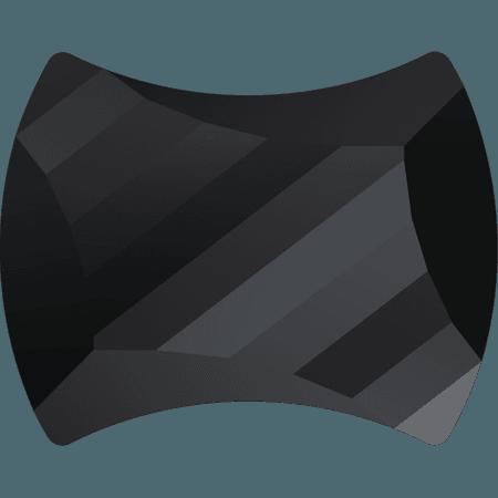 Swarovski 2540 - Curvy, Hotfix, Jet