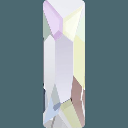 Swarovski 2555 - Cosmic Baguette, Hotfix, Crystal AB