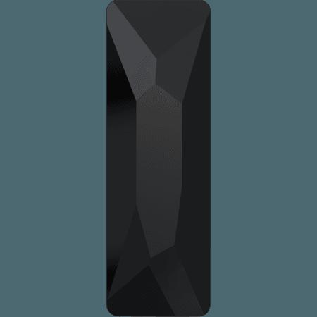 Swarovski 2555 - Cosmic Baguette, Jet