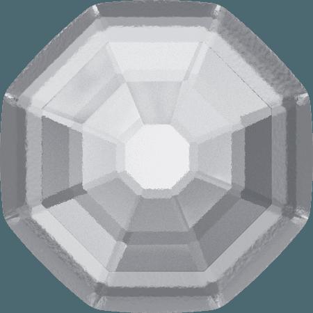 Swarovski 2611/G - Solaris partly frosted, Hotfix, Crystal