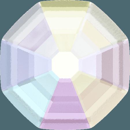 Swarovski 2611/G - Solaris partly frosted, Hotfix, Crystal AB
