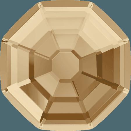 Swarovski 2611 - Solaris, Hotfix, Crystal Golden Shadow