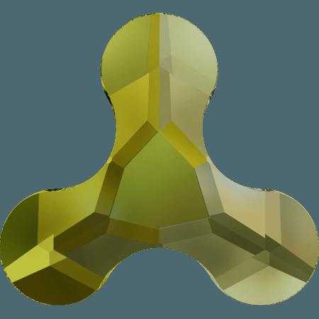 Swarovski 2708 - Molecule, Hotfix, Crystal Iridescent Green