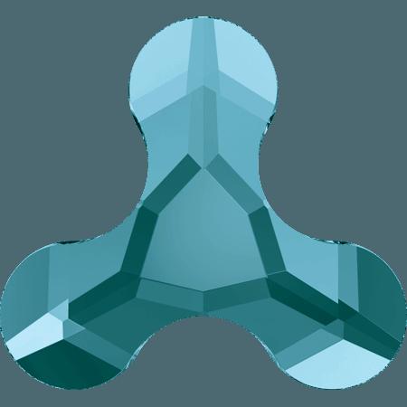 Swarovski 2708 - Molecule, Hotfix, Light Turquoise