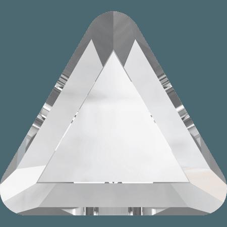Swarovski 2711 - Triangle, Hotfix, Crystal