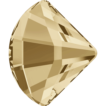 Swarovski 2714 - Fan, Crystal Golden Shadow