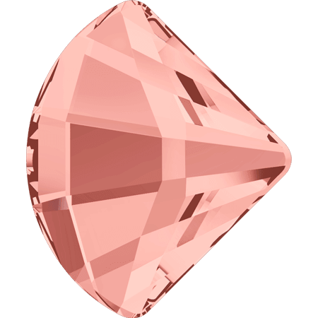 Swarovski 2714 - Fan, Rose Peach