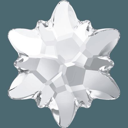 Swarovski 2753 - Edelweiss, Hotfix, Crystal