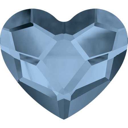 Swarovski 2808 - Heart, Denim Blue