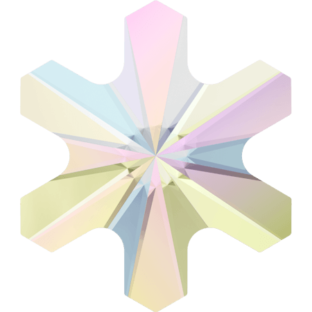 Swarovski 2826 - Rivoli Snowflake, Hotfix