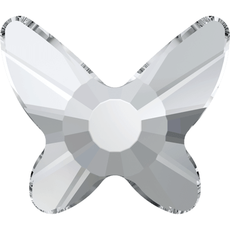 Swarovski 2855 - Butterfly, Hotfix, Crystal