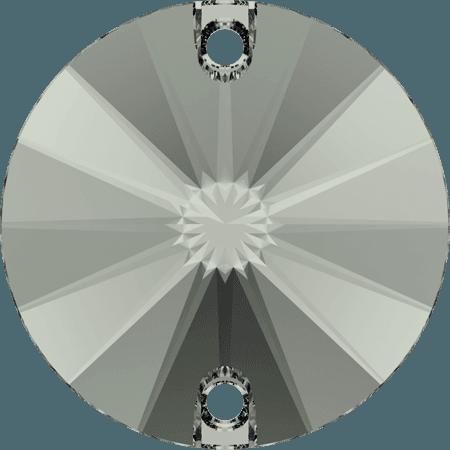 Swarovski 3200 - Rivoli, Black Diamond