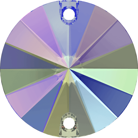 Swarovski 3200 - Rivoli, Crystal Paradise Shine