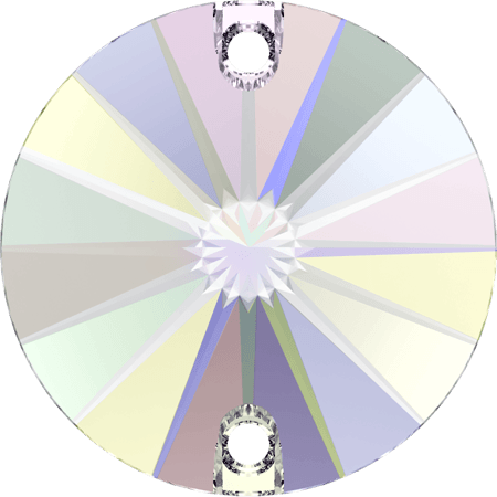 Swarovski 3200 - Rivoli, Crystal AB