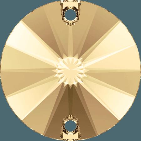 Swarovski 3200 - Rivoli, Light Colorado Topaz