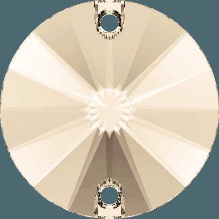 Swarovski 3200 - Rivoli, Light Silk