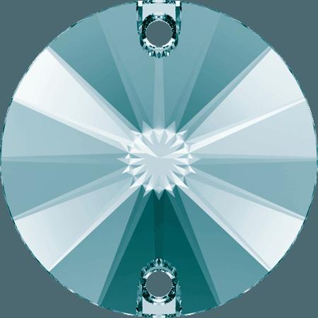 Swarovski 3200 - Rivoli, Light Turquoise