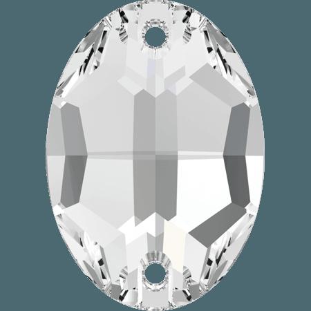 Swarovski 3210 - Oval, Crystal