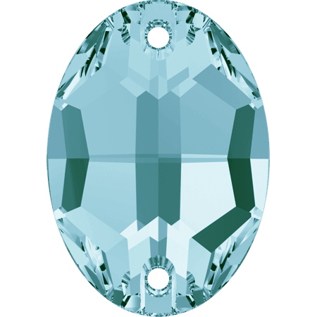 Swarovski 3210 - Oval, Light Turquoise