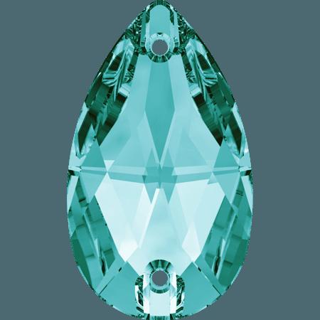 Swarovski 3230 - Drop, Blue Zircon