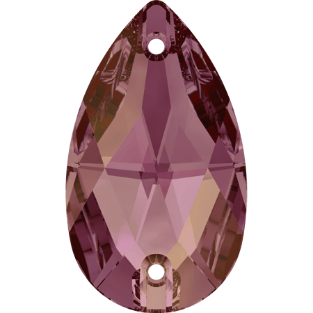 Swarovski 3230 - Drop, Crystal Lilac Shadow