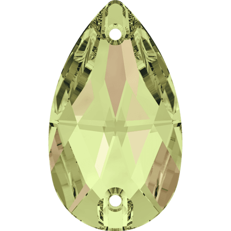 Swarovski 3230 - Drop, Crystal Luminous Green
