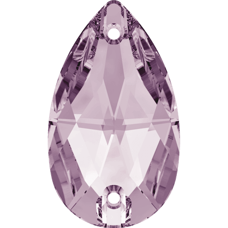 Swarovski 3230 - Drop, Light Amethyst
