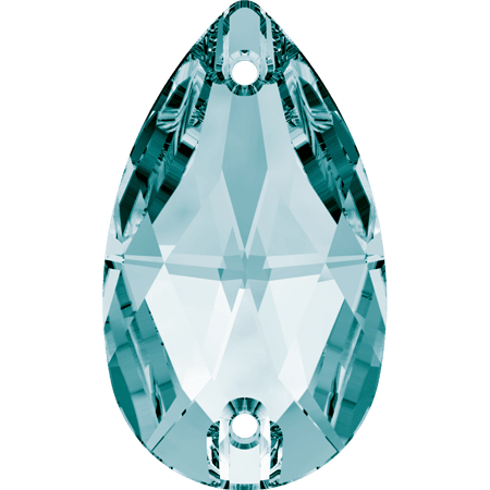 Swarovski 3230 - Drop, Light Turquoise
