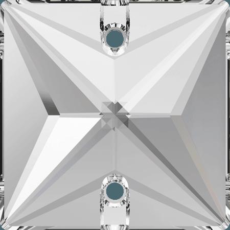 Swarovski 3240 - Square, Crystal