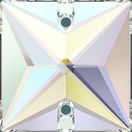 Swarovski 3240 - Square, Crystal AB