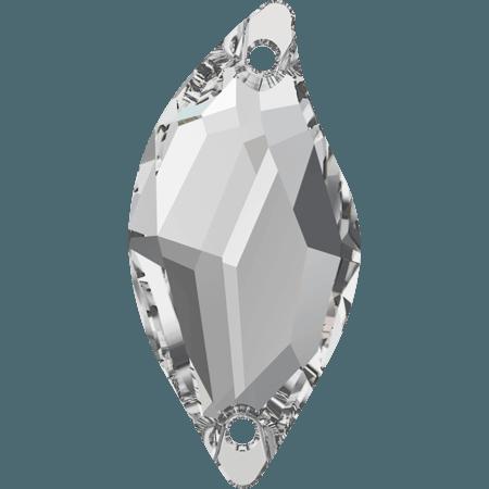 Swarovski 3254 - Diamond Leaf, Crystal