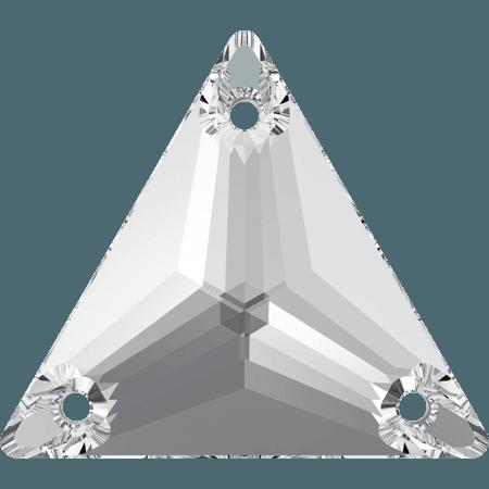 Swarovski 3270 - Triangle, Crystal