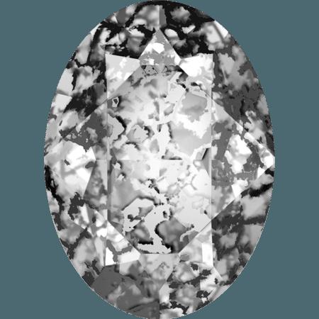Swarovski 4120, Crystal Black Patina