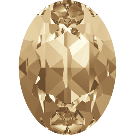 Swarovski 4120, Crystal Golden Shadow