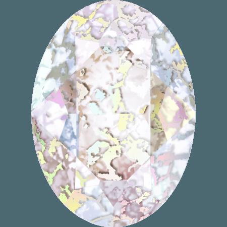 Swarovski 4120, Crystal White Patina