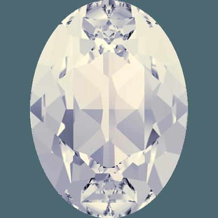 Swarovski 4120, White Opal